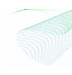 Abstract Wave Set on White Background vector image