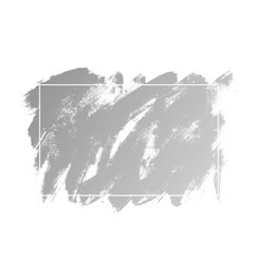 abstract brush strokes paint with texture on white vector image
