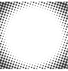 halftone style background comics vector image