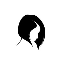 Head women vector