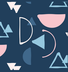 Hipster mix and match minimalistic pattern vector