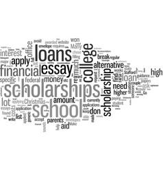 How to lessen student debt vector