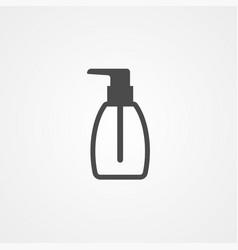 liquid soap icon sign symbol vector image