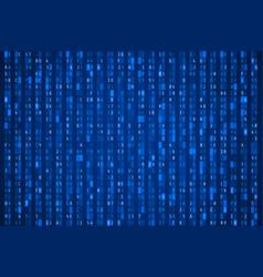 random hexadecimal code abstract digital data vector image
