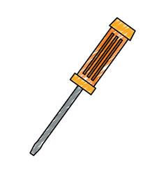 Screwdriver construction tool equipment vector