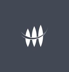 Seed logo abstract design vector