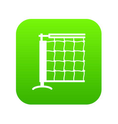 tennis net icon green vector image