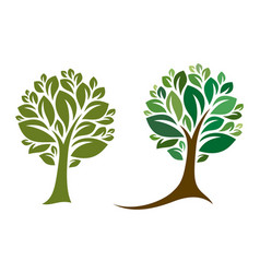 tree 20 vector image