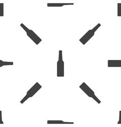 Bottle pattern vector