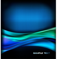 Business elegant blue abstract background vector