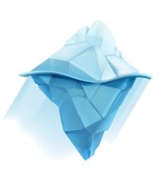Iceberg icon vector image