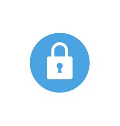 lock icon padlock sign unlock vector image