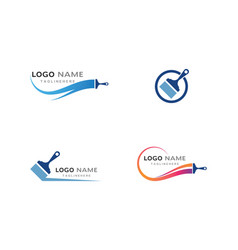 Paint logo vector