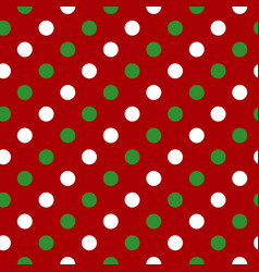 White green red circle seamless pattern vector