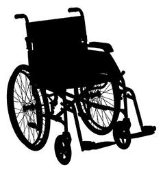 Wheelchair vector image vector image