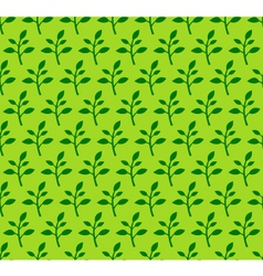 Spring Sprout Seamless Pattern vector image vector image