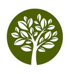 tree 21 vector image