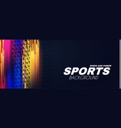 abstract sport background with motion elements vector image