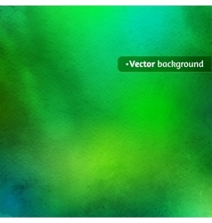 Green watercolor texture vector