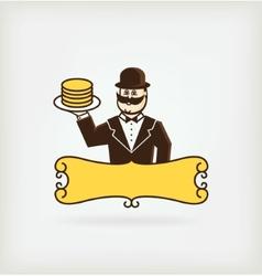 Mr pancake vector