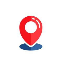 pin location icon design pin map sign symbol vector image