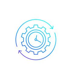 Productivity or efficiency vector