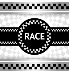 Race new backdrop vector image