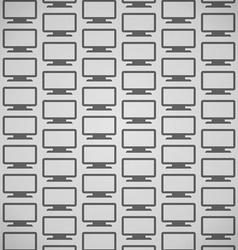 Flat Screen Pattern vector image