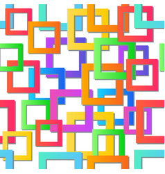 modern colorful mosaic background seamless vector image vector image
