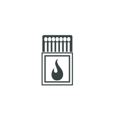 matches icon simple vector image vector image