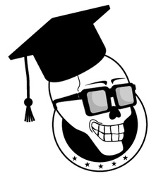 old student vector image vector image