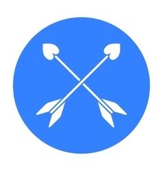 Arrow icon black Single gay icon from the big vector
