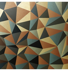 brown gamut triangle patch surface vector image