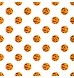 cafe biscuit pattern seamless vector image