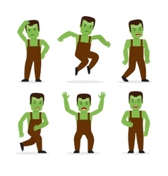 Frankenstein monster vector