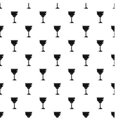 jewish cup pattern seamless vector image