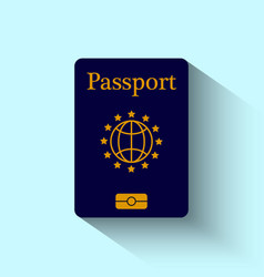 Passport Flat Design vector