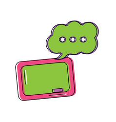 school supplies icon image vector image