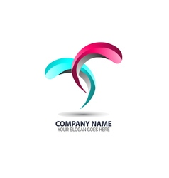 Water Element Logo Icon vector image
