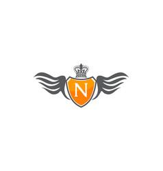Wing shield crown initial n vector