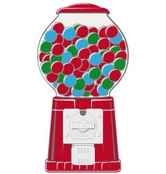chewingball machine vector image