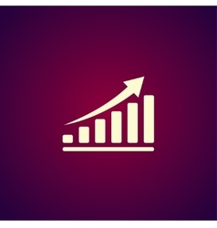 economic icons vector image vector image