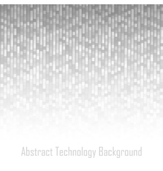 Abstract Gray Technology Lines Background vector image vector image