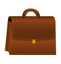 briefcase portfolio isolated icon vector image