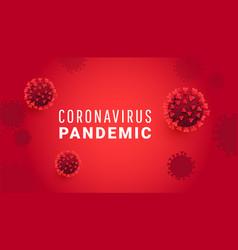 coronavirus bacteria cell sars-cov-2 moleculas vector image