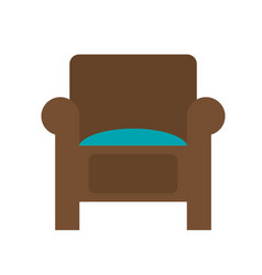 couch chair icon image vector image