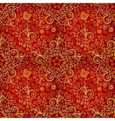 doodles vintage ornate seamless pattern vector image