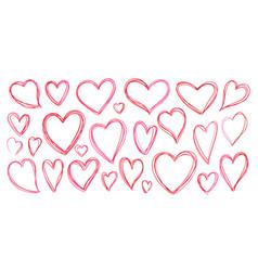 Heart love romantic valentine day pink icon vector