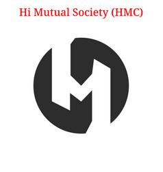 Hi mutual society hmc logo vector