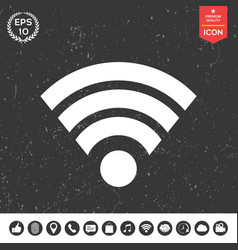 internet connection icon vector image
